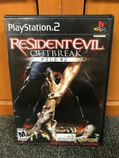 Resident Evil Outbreak File #2 - PS2 Game - Capcom - Horror - 2004 - COMPLETE