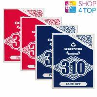 4 Mazos Copag 310 Cara Apagado Póker Carta de Juego Papel Estándar Índice Azul