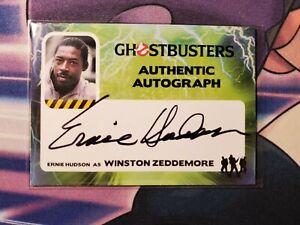 2016 Cryptozoic GHOSTBUSTERS Authentic Autograph Winston Ernie Hudson SP