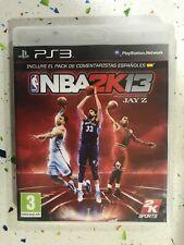 NBA 2K13 PS3 PLAYSTATION 3 2K SPORTS Espagne Am