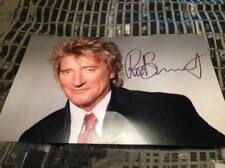 ROD STEWART HAND SIGNED 12 X 8 PHOTO THE FACES LEGEND GREAT GIFT IDEA W COA