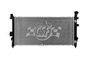 Radiator-1 Row Plastic Tank Aluminum Core CSF 3448