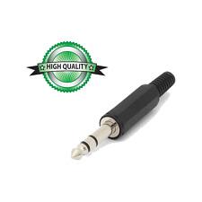1 Fiche Jack 6,35 STEREO Mâle Haute Qualité Connections à Souder