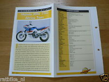 LM17- HONDA XRV750 AFRICA TWIN  INFO MOTORCYCLE,MOTORRAD,MOTORFIETS