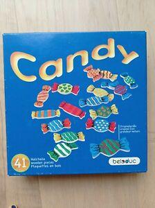 🍬 Beleduc Candy 🍬 Wunderschönes Spiel aus Holz, sehr aufwendig und hochwertig