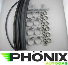 Autogas-Montage-Frontkit 4Zyl. Komplettset- Wasser-Gas-Kühler-Schlauch-Set LPG