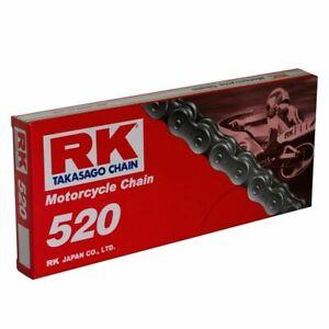 RK 520 Standard Black, 120 link Drive Chain Road Eenduro MX Motocross Trial Ktm