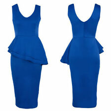 Unbranded Women's V Neck Knee Length Stretch, Bodycon Dresses