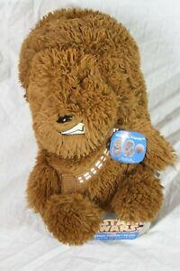 """Star Wars Chewbacca Brown Hideaway Friends Pillow Stuffed Plush Toy 10"""" Tall"""