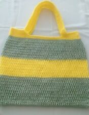 hand crafted crochet bag