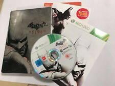 XBOX 360 GAME BATMAN ARKHAM CITY STEELBOOK EDITION GAME & TIN BOX PAL