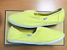 Gola Quarry Mens Canvas Slip On Shoes / Espadrilles CMA361 Yellow UK Size 7