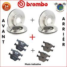 Kit complet disques et plaquettes avant + arrière Brembo RENAULT MEGANE