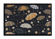 Chelsea Umbrellas Print Door Mat Pretty Design Non Slip Dry Absorbent 50x75cm