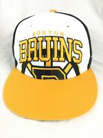 Forty Seven Brand Boston Bruins Hockey NHL Black Yellow Snapback Hat 47