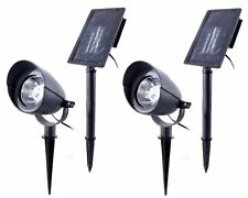 NATURALLY 2-PACK SOLAR SPOT LIGHTS 50 LUMENS