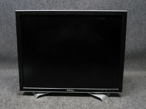 "Dell Model 2007FPb Black/Silver 20"" LCD Flat Panel Monitor S-Video/DVI/VGA"