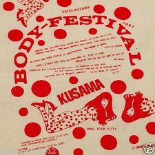 Yayoi Kusama Dots BODY FESTIVAL Art Design TOTE Bag Red Exhibit Limited NEW F/S