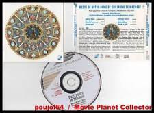 "GUILLAUME DE MACHAUT ""Messe De Notre Dame"" (CD) Binchois,Vellard 1990"