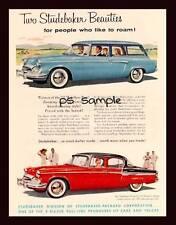 STUDEBAKER 1955 - Vintage Car Ad Fridge Magnet
