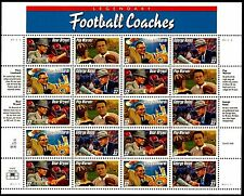 US Stamps SC#   3143-3146 Legendary Football Coaches Mint Sheet  M/NH
