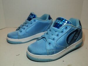 HEELYS Propel Ballistic lite blue 1 wheel shoes # HE100180 Youth size 3 youth