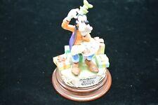 Walt Disney Goofy 60Th Birthday Capodiamonte Laurenz #99/1000 Lzd-7410 W/Coa