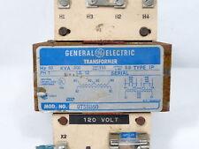 General Electric 9T58B50 Transformer .5KVA PRI 220-240V SEC 110-120V ! WOW !