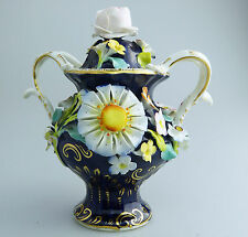 Coalbrookdale Staffordshire Antique English Pottery a Pot Pourri Vase C.19thC