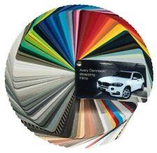 Avery Dennison® Supreme Wrapping Film Autofolie Farbfächer