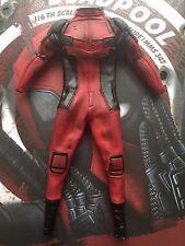 Hot Toys Deadpool MMS347 cuerpo de color rojo traje Suelto Escala 1/6th