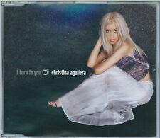 CHRISTINA AGUILERA - I TURN TO YOU / WHAT A GIRL WANTS (REMIXES) 2000 CD SINGLE