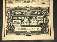 The Bank SPIRIT Blues Image Concert Ad 1968 Los Angeles Sunset Strip