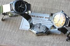 WW2 era soldier watch cuff bracelet 16mm to A-11 ORD A-17 military watch NOS