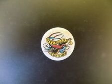 CITY AND COLOUR  - LOGO-25MM -  BUTTON BADGE- FREE POSTAGE!