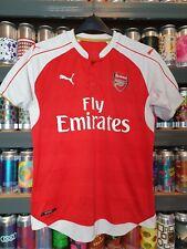 Arsenal 2015-2016 Mens Medium Football Shirt Puma Retro Vintage Classic