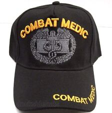 U.S. COMBAT MEDIC VETERAN Cap/Hat New Black Military*Free Shipping*