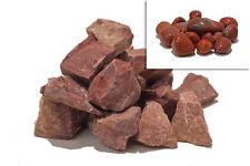 Stone tumbling Rock - 1kg RED JASPER Lapidary Rough Rock