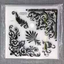 Close to my Heart S1208 Baroque Borders CTMH Acrylic Stamps Set NEW
