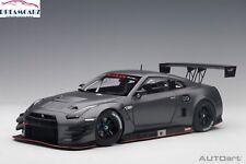 AUTOart 81583 1:18 Nissan GT-R Nismo GT3 Dark Matte Grey