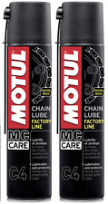 2 X 400 ML Grasso Spray per Catena Motul C4 Chain Lube Factory Line Racing Road