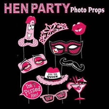 10PCS Full Set Photo Booth Prop Mustache Wedding Hen Do Party Stag Night Game