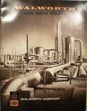 WALWORTH ALOYCO Valve Catalog ASBESTOS Gasket Renewable Disc 1970 Steam Oil