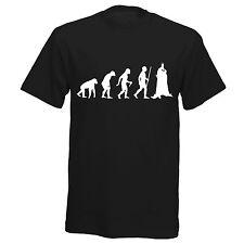Bat Man DC Inspired Evolution Mens Womens Girls Boys Comic Hero T Shirt