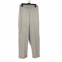 Lee Performance Womens Beige Khaki Straight Casual Pants Size 14 Long