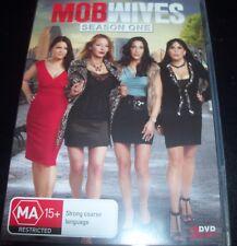 Mob Wives Season One 1 (Australia Region 4) DVD – Like New