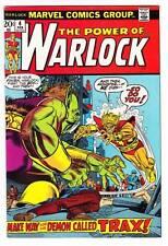 THE POWER OF WARLOCK #4 - 1973 Marvel - Roy Thomas & Gil Kane - Fine/Very Fine
