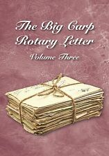 THE BIG CARP ROTARY LETTER VOLUME 3 - WAS £30 NOW ONLY £7.45