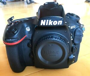 Nikon D810 DSLR Camera Body with extras