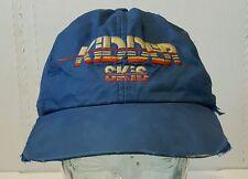 vintage kidder skis blue hat snapback dirty used 1980s rare